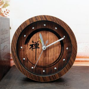 Free-shipping-Chinese-tea-pastoral-style-retro-nostalgia-wood-word-font-b-clock-b-font-alarm