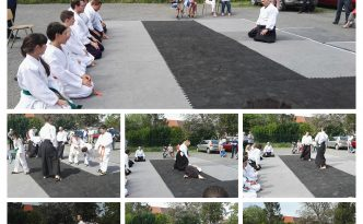 Montage photo aikido